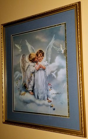"Beautiful Sandra Kuck ""Angel Kisses"" Framed Print for Sale in Williamsport, PA"
