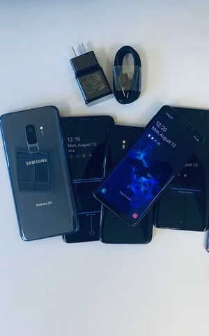 Samsung Galaxy s9+ unlocked with store warranty and receipt for Sale in Somerville, MA