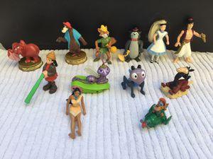 Vintage McDonald's Kids Meal Disney Toy Lot / Bundle of 12 for Sale in Fresno, CA