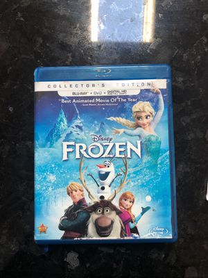 Frozen blu ray and dvd for Sale in Everett, WA