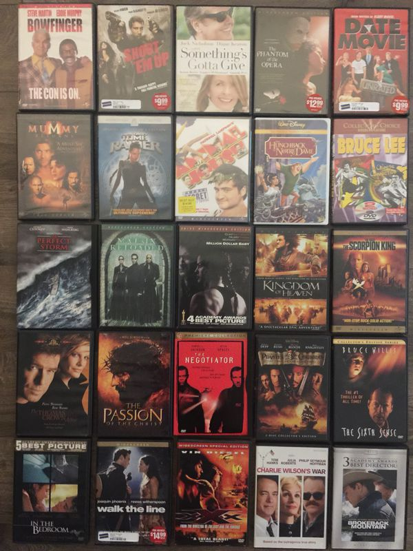 DVD Lot - 125+ DVDs all in excellent condition