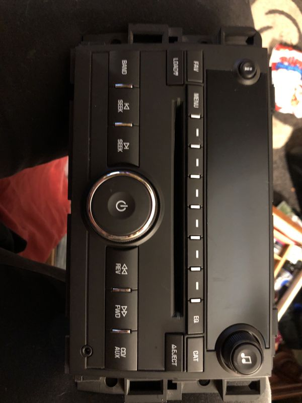 GMC Seierra SLT Radio CD Player. #25782842