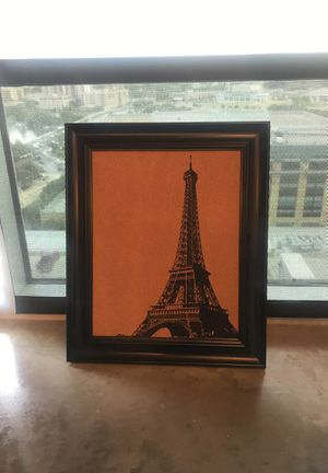 Eiffel Tower Cork board Painting for Sale in Austin, TX