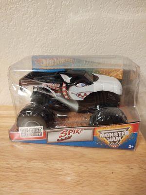 Monster jam New Hot Wheels Spike for Sale in Tempe, AZ