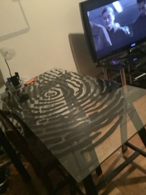 Glass table for Sale in The Bronx, NY
