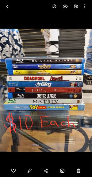 Blu-Ray /DVD movies.. prices are in the pictures for Sale in The Bronx, NY