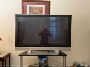 Panasonic 50 inch Plasma TV with Stand for Sale in Hendersonville, TN