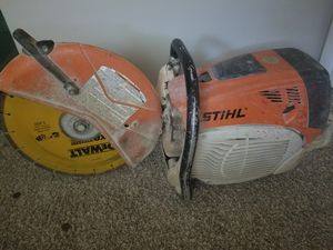 A Stihl concrete saw TS 700 with Dewalt blade for Sale in Norcross, GA