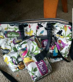 Sakroots (crossbody) purse with matching (wristlet) wallet for Sale in Fort Meade, MD