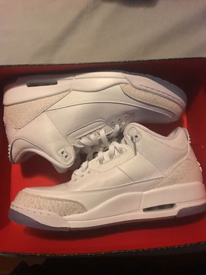 Jordan 3 WHITE BRAND NEW for Sale in Portland, OR