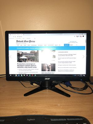 Acer 20 inch computer monitor for Sale in Warren, MI
