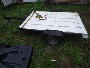Small flat bed trailer for Sale in Tampa, FL