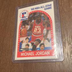 1989 NBA hoops all star game Michael Jordan 21 for Sale in Westley,  CA