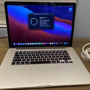 "Apple MacBook Pro 15"" Retina (2015) for Sale in Simi Valley, CA"
