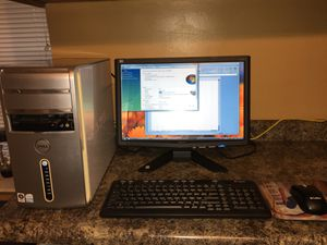 Complete Dell Inspiron 530 Desktop Computer System for Sale in Chicago, IL