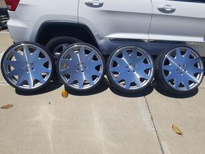 "MRR Design 24"" Rims with R22 Tires for Sale in Santa Maria, CA"