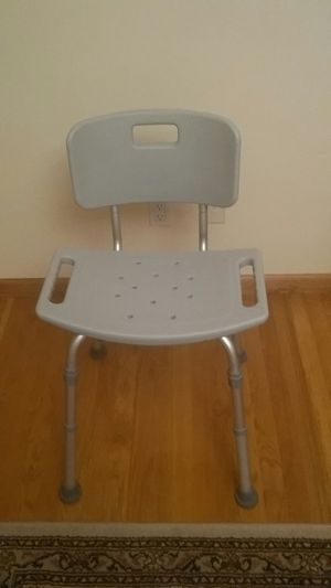 CHAIR ADJUSTABLE LEGS AND SIDE HANDLES NEW !FREE 10/14 for Sale in Queens, NY