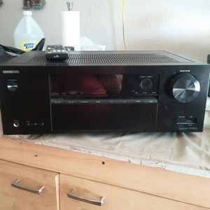 Onkyo AV RECEIVER for Sale in Pasadena, TX