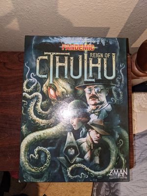 Pandemic Reign of Cthulhu Co-Op Board Game for Sale in Kansas City, MO