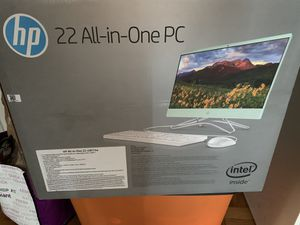 Brand new box is sealed all in one computer-price is FIRM for Sale in Washington, DC