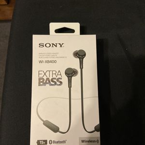 Sony Extra Bass Wireless Headphones for Sale in East Los Angeles, CA