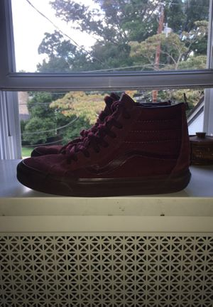 Maroon vans high tops for Sale in Springfield, PA
