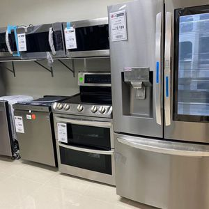 Appliances Refrigerator Dishwasher Stove Microwave for Sale in Hollywood, FL