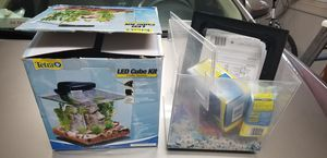 Tetra LED Cube Fish Tank for Sale in Rockville, MD
