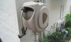 Automatic Hose Reel with 65 foot Retractable Hose Easy Mount Auto Rewind for Sale in Santa Monica, CA