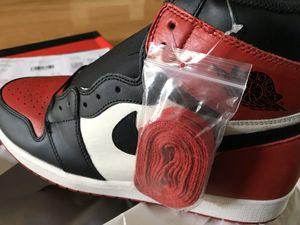Air Jordan 1 Bred size 12 for Sale in Tampa, FL