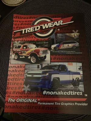 TredWear Tire Stickers Falken for Sale in Chicago, IL