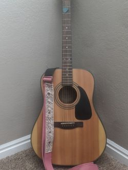 Mint Fender Acoustic Guitar, With Cloth Case, Tuner, And Two Shoulder Straps. for Sale in Salt Lake City,  UT