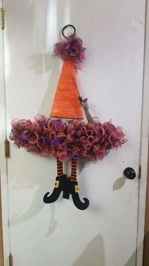 Halloween Witch Hat Decor for Sale in San Bernardino, CA