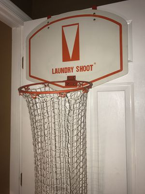 Hanging Basketball Hoop Laundry Basket for Sale in Quinton, VA