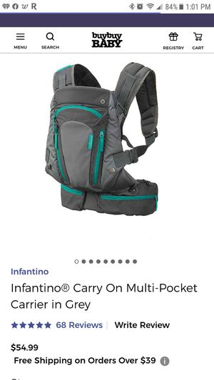 Infantino carry multi-pocket carrier for Sale in Cicero, IL