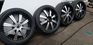 """24"""" rims for Sale in Los Angeles, CA"""