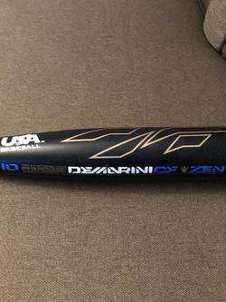 Demarini Cf Zen USA Stam Baseball Bat for Sale in National City,  CA