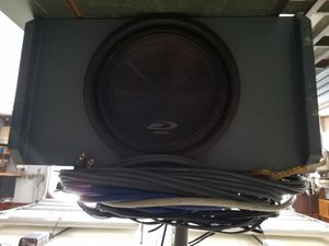 Alpine E10 Subwoofer for Sale in PA, US