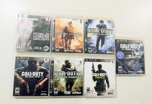 PS3 Call Of Duty Collection of 7 games for Sale in Orlando, FL