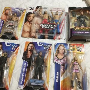 $70.00 FOR ALL ACTION FIGURES BRAND NEW!!! for Sale in Phoenix, AZ