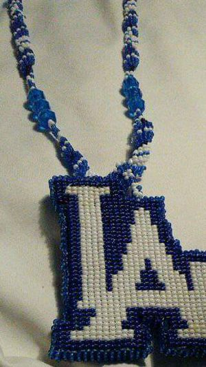 LA Dodgers beaded necklace for Sale in Los Angeles, CA