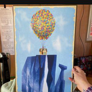 """Ďisneys Pixar Presents """"UP"""" Portrait for Sale in Henderson, NV"""