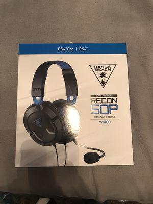 Turtle Beach Recon 50P Ps4 Headset Brand New for Sale in Atlanta, GA