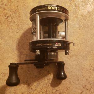 Abu Garcia Ambassadeur 5001 C fishing reel - black - for Sale in Raleigh, NC