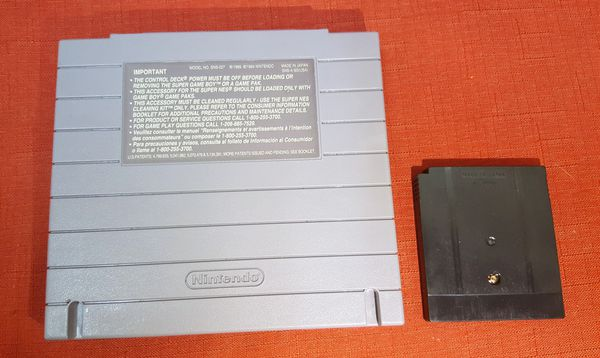 Super Nintendo SUPER GAME BOY with R-TYPE DX Game (Original - Tested)