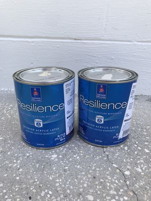 Large paint selection. Single gallons and quarts of Resilience, A-100, Cashmere, Duration. for Sale in Winter Park, FL