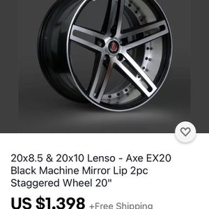 Lenzo Axe Wheels for Sale in Mission Viejo, CA