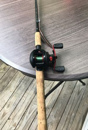 Shimano Fishing Rod w/ Abu Garcia Reel for Sale in Atlanta, GA