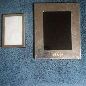 2 Tiffany & Co. Silver Photo Frames, 8x10, 5x7 for Sale in Houston, TX