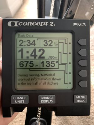 Concept 2 - PM3 Monitor (like new condition) for Sale in Santa Clarita, CA